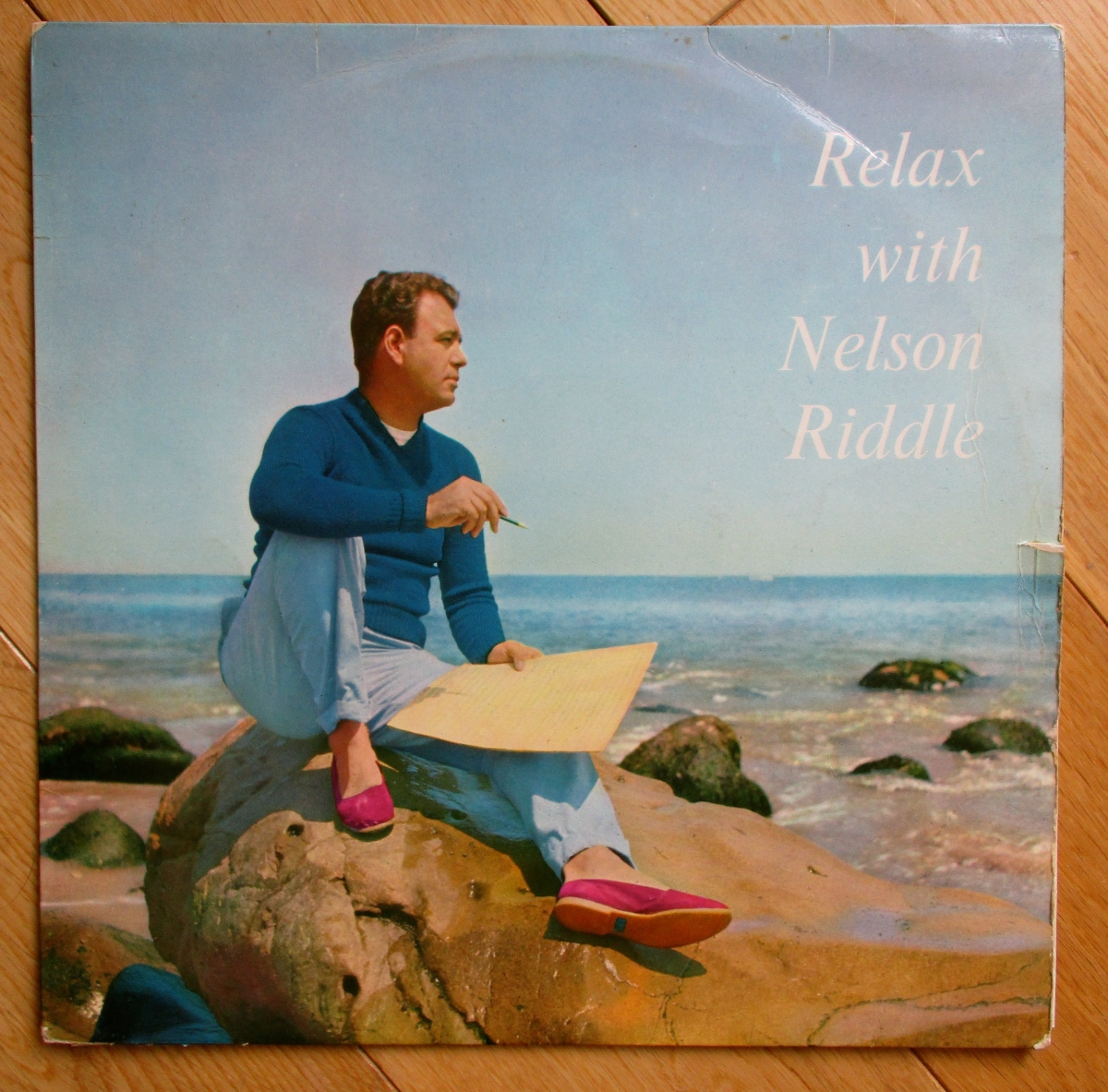 Vintage vinyl at the charity shop: Relax With Nelson Riddle