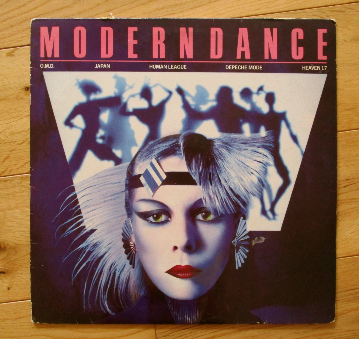 Vintage Vinyl in the charity shop: 1981 dance compilation