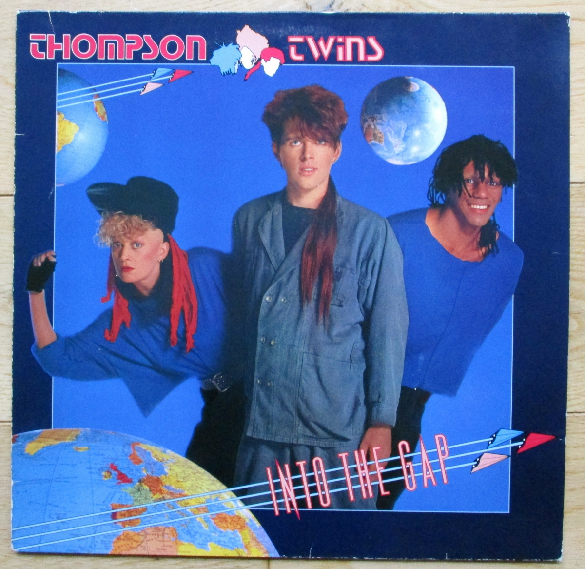 Vintage Vinyl in the charity shop: Into The Gap by the Thompson Twins