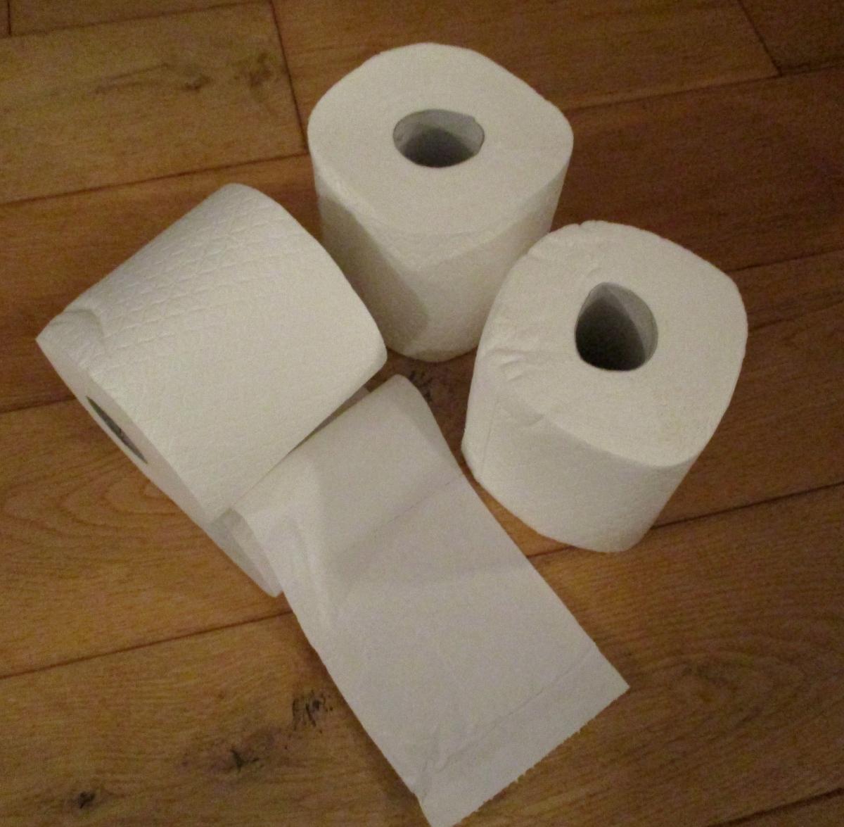 Building toilet paper castles