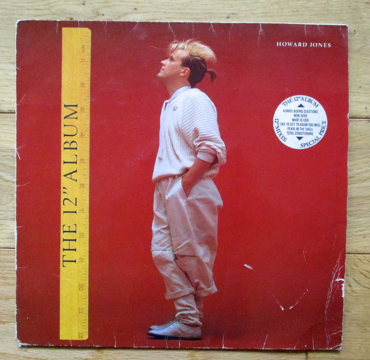 Vintage Vinyl: 12 inches of Howard Jones