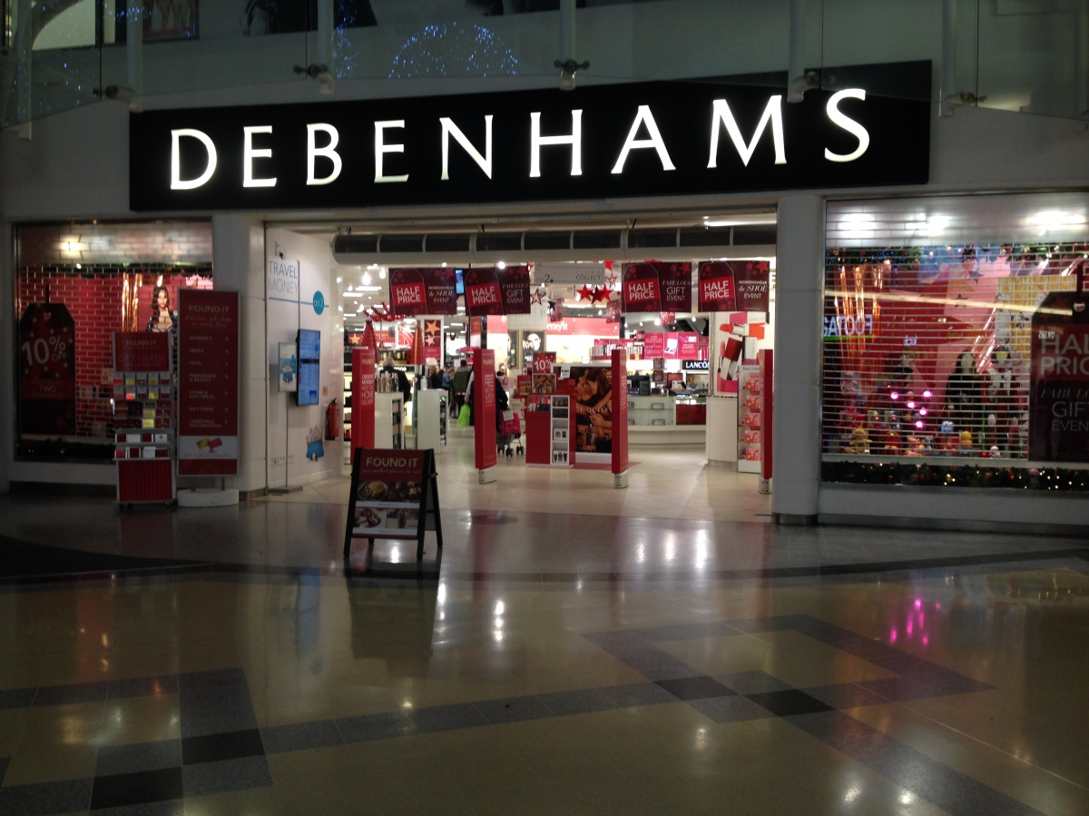 Debenhams: a view from the inside