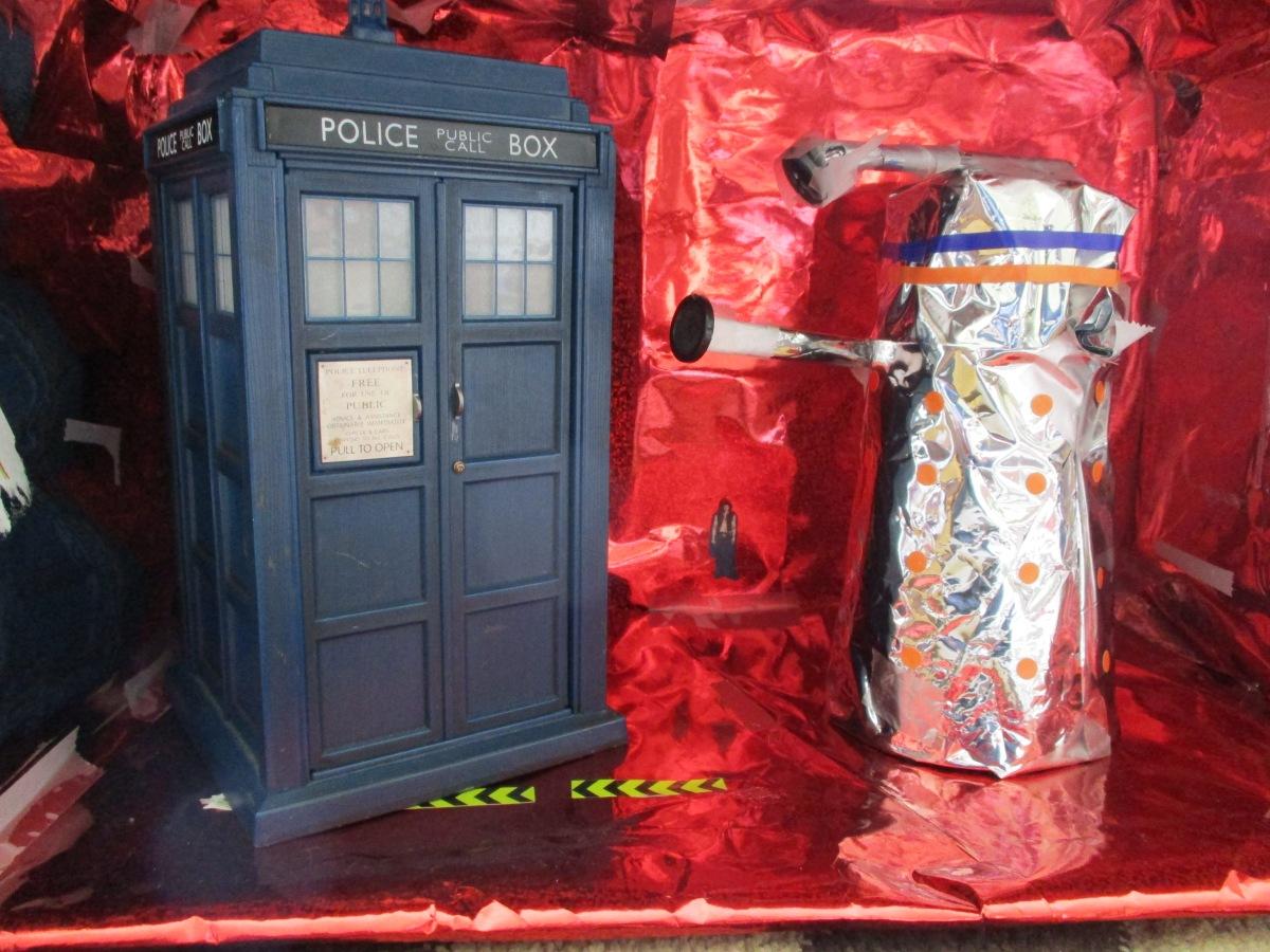 Creative parenting: Dalek